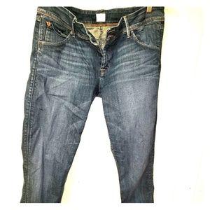Women 32 Hudson Coolin flap skinny jeans
